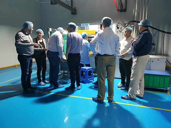 立科精密-国外科研项目团队来访