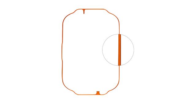 电子产品硅胶防水圈
